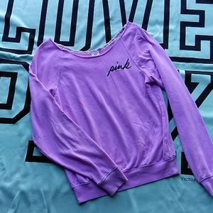VS PINK slouchy fit sweatshirt 💜